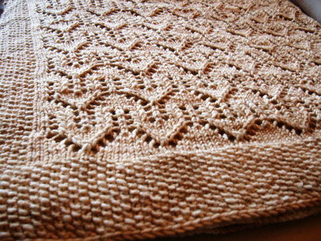 Free Knitting Patterns For Lacy Blankets : Fearless Dreamer Lace Baby Blanket Knitting Patterns for ...