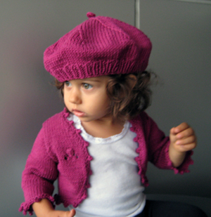 Baby Shrug Bolero Knitting Pattern - Ring Around the Rosie