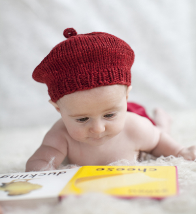Knitting Pattern For Toddler Beret : FREE KNITTING PATTERN FOR ARAN BERET   KNITTING PATTERN